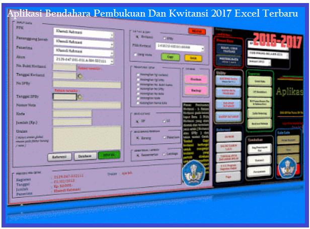 Aplikasi Pembukuan Spj Bos Dan Kwitansi 2017 Excel